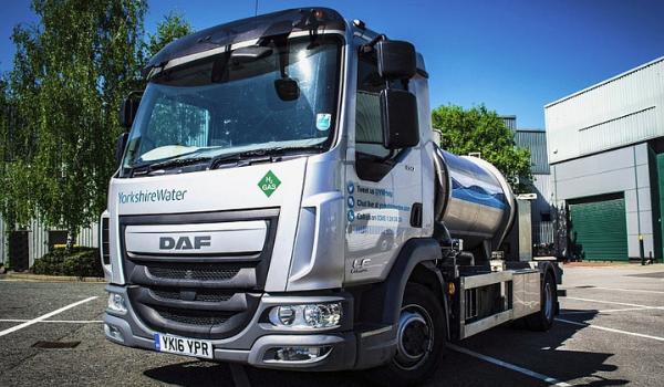 Yorkshire Water Hydrogen Truck