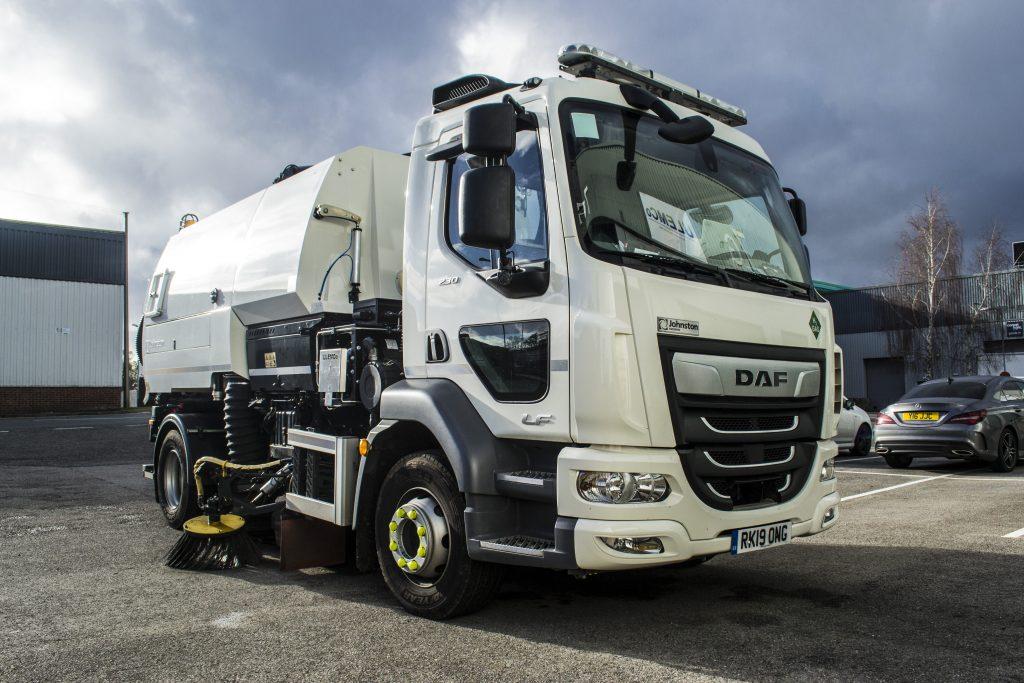DAF Hydrogen Fuel Road Sweeper Truck