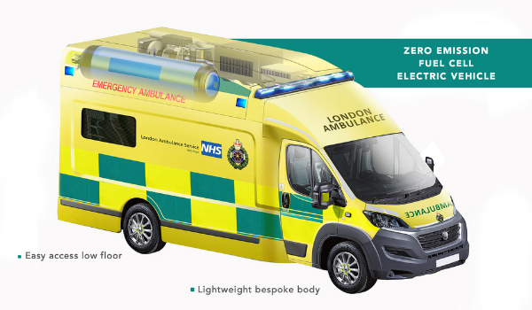 London Ambulance Hydrogen Fuel Cell