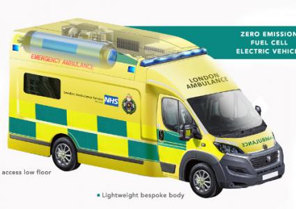 London Ambulance Hydrogen Fuel Cell